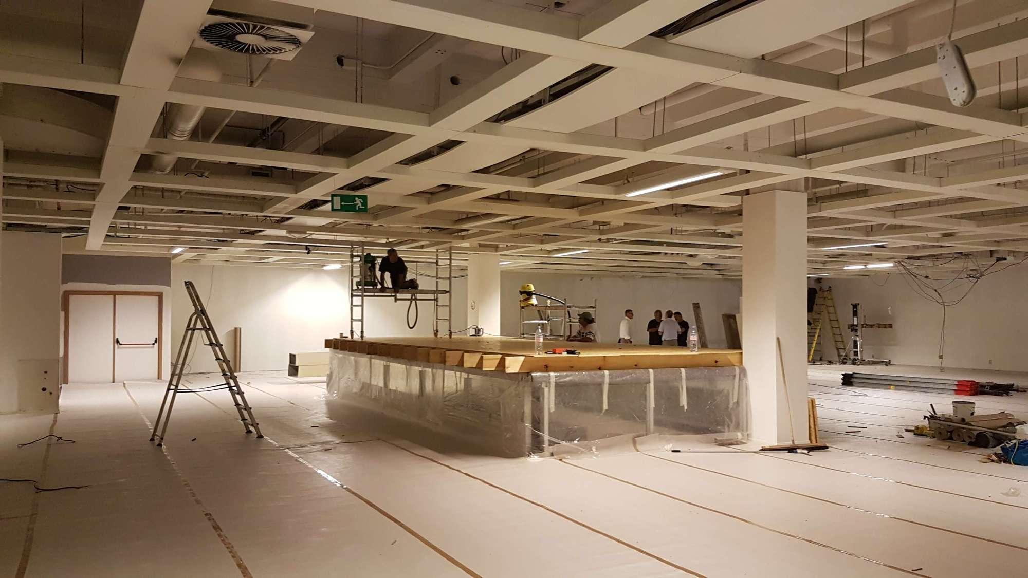 Deco Salle De Bain Bleu Et Gris ~ R Alisation Entreprise R Novation Woluw Bruxelles A M S
