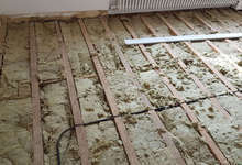 Parquet : Avant - AMS Rénovation